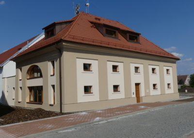 exteriér budova